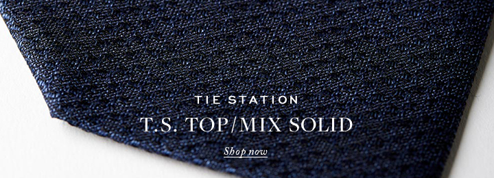 ネクタイ T.S. TOP/MIX SOLID